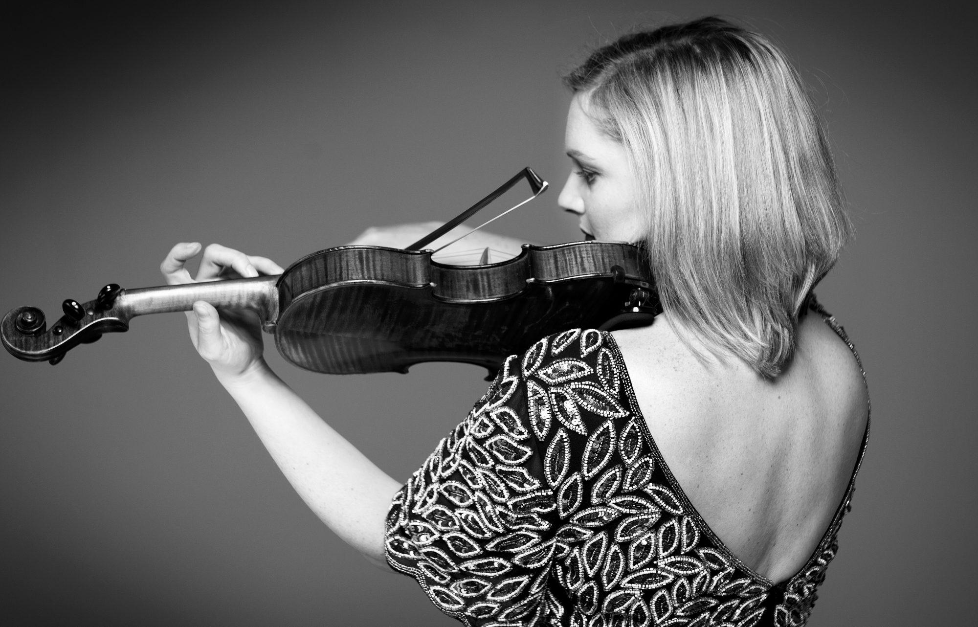 Violinist Hazel Alexander
